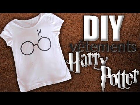 bien connu mode dessins attrayants DIY : Personnaliser ses vêtements Harry Potter