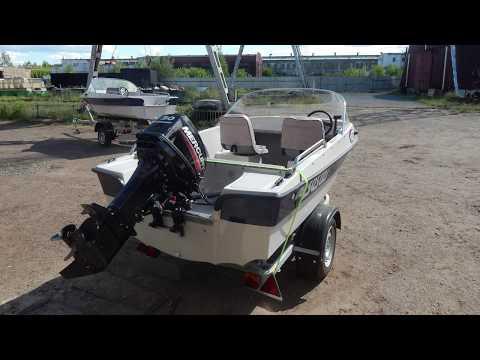 Бюджетная моторная лодка Бестер-400. Обзор, характеристики, комплектация.