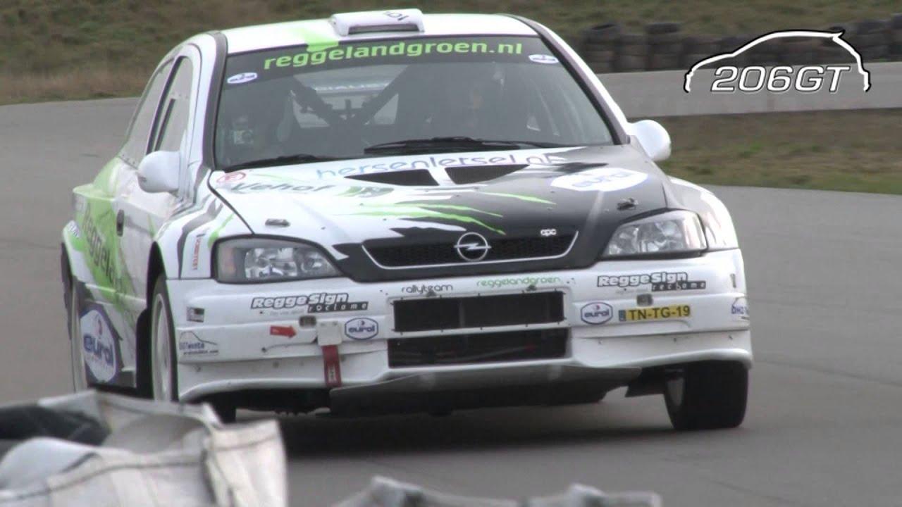 Opel Vauxhall Astra G KIT CAR Rallyteam Reggeland Groen [Full HD ...