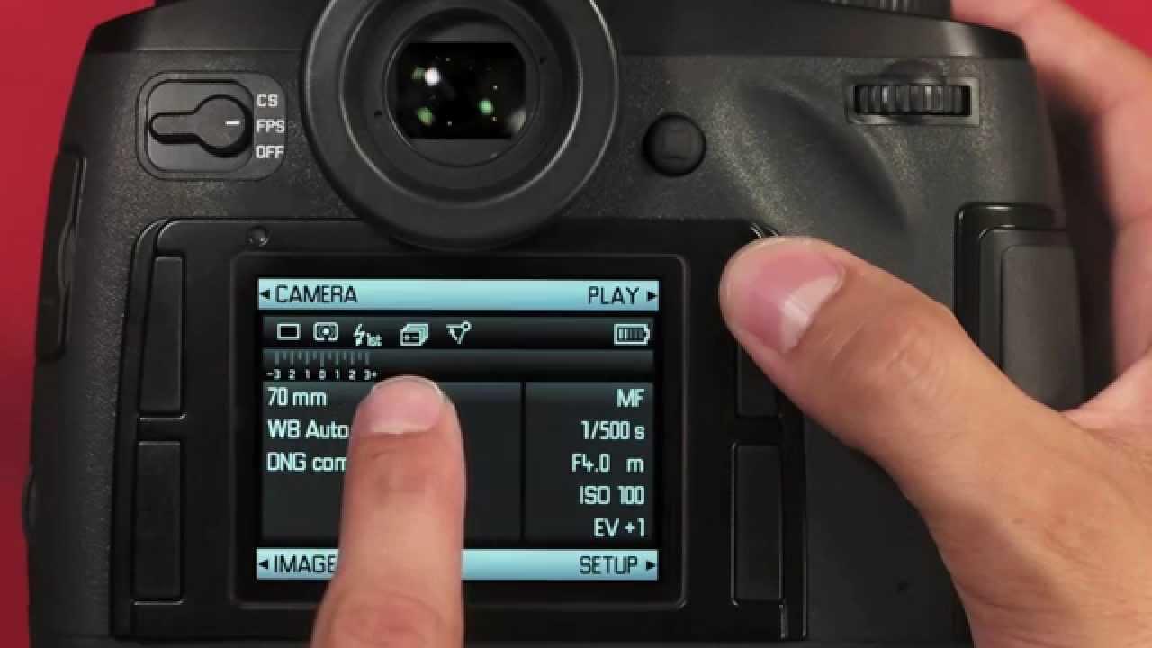 Leica S (Typ 006) Camera Driver