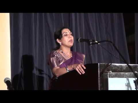Dr Nisha Pillai KHNA Womens Forum 2013