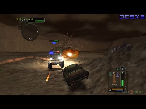 Twisted Metal: Black - PS2 Gameplay 1080p (PCSX2)