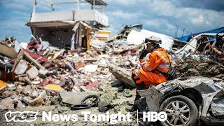 Inside The Search Mission For Indonesia's Tsunami Survivors (HBO)