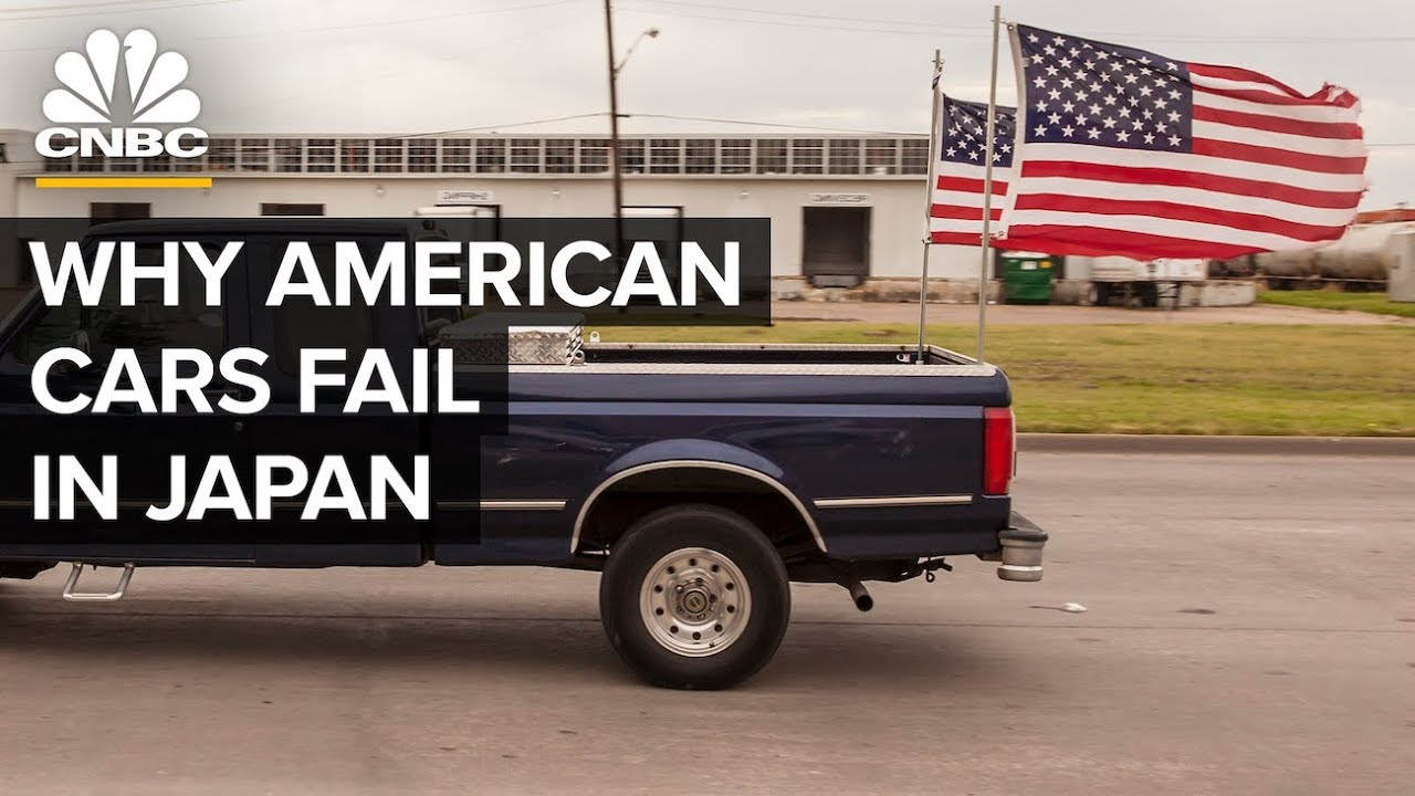 Why Ford And Other American Cars Don't Sell In Japan