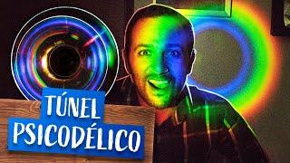 Faça um túnel psicodélico usando 2 CDs