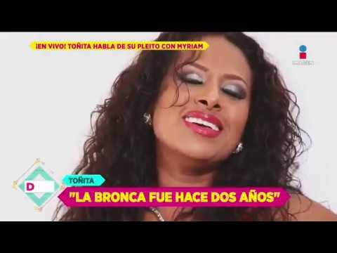 EL ORIGEN DEL PLEITO ¡Toñita revela que casi llegó a los golpes con Myriam! | De Primera Mano
