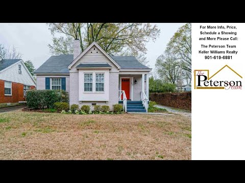 127 ALEXANDER, Memphis, TN Presented by The Peterson Team.
