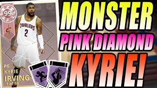 NBA 2K18 MYTEAM PINK DIAMOND KYRIE IRVING GAMEPLAY! IT ALL COMES DOWN TO ONE SHOT!