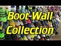 SR4U Soccer Cleats/Football Boots Collection - Boot Wall