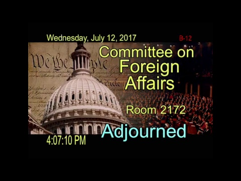 """Hearing: """"Advancing U.S. Interests in the Western Hemisphere: The FY 2018 Budget Request"""""""