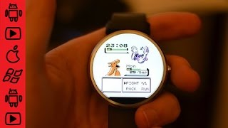 How to use Facer to install custom watch faces onto the Moto 360 or other Android Wear smart watches