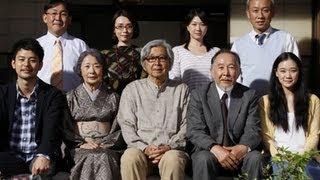 『東京家族』製作報告会見 橋爪功、吉行和子、西村雅彦、夏川結衣、中嶋...