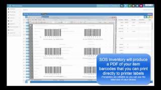 SOS Inventory v5 - Barcodes