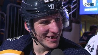 "Alexander Steen says Niko Mikkola was ""oustanding"" in second NHL game"