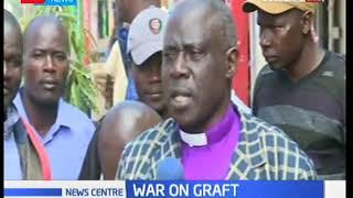 Kakamega residents advice to President Kenyatta on war against corruption