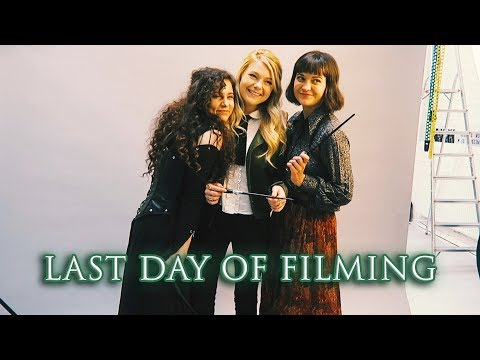 Sisters of House Black Behind the Scenes Vlog. The last day of filming!