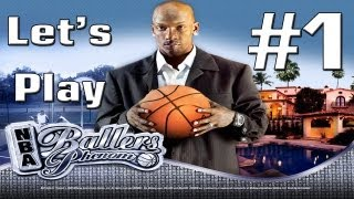 Let's Play - NBA Ballers: Phenom Part 1 - Introduction