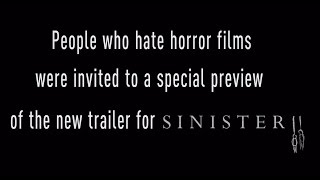 SINISTER 2 - TRAILER REACTION VIDEO