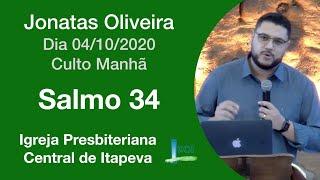 Salmo 34  - Jonatas Oliveira