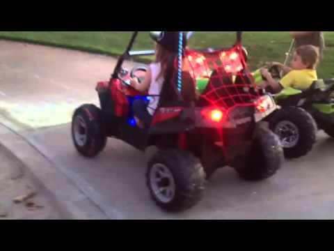24 volt rzr 900 vs 12 volt Dune racer buggy