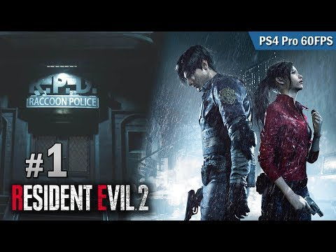 【新連載】#1 Raccoon City 上班的第一天 | Biohazard RE:2  (Resident Evil 2 remake) PS4 Pro 60 FPS