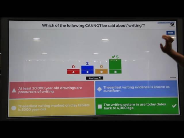 Using Kahoot to teach linguistics -2