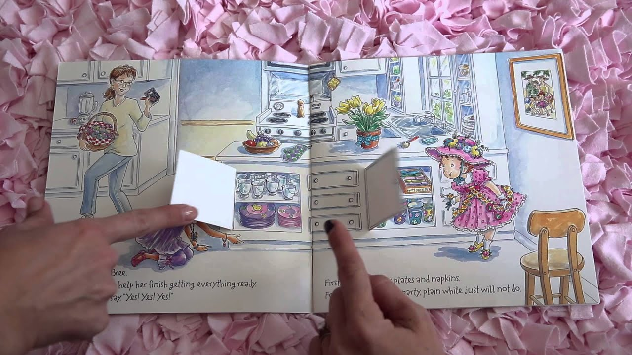 Fancy Nancy Read Aloud Along Story Book For Kids And Children Youtube