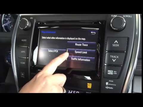 Using The New Toyota Entune Navigation System