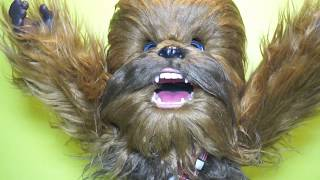 Star Wars Furreal Ultimate Co-pilot Chewie 2018 Chewbacca  by Hasbro Unboxing Review