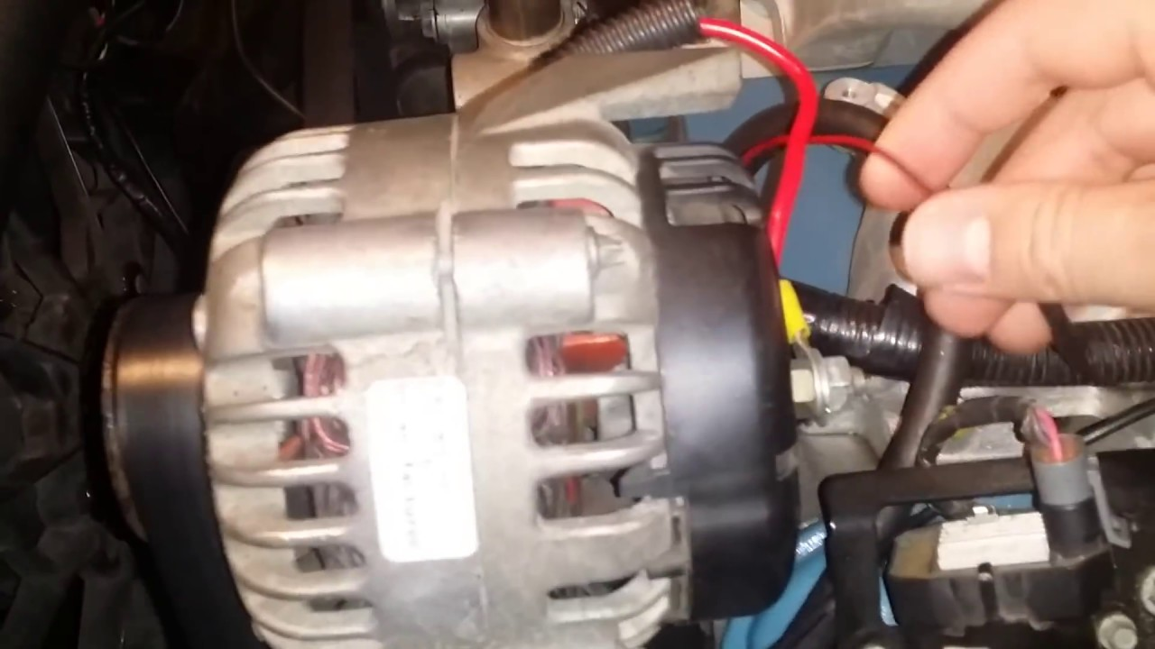 Gm 4 Wire Alternator Wiring Diagram 1966 Mustang Under Dash How To: Carbed Ls1 Swap- And Power Steering Classic Car & Truck - Youtube