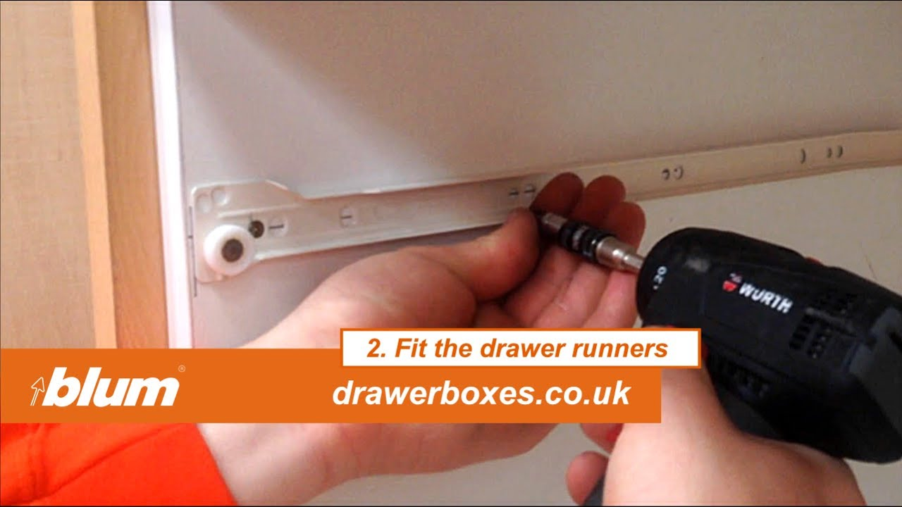 Blum Metabox   Deep Replacement Kitchen Drawer Box   2 Of 3 Fit The Drawer  Runners