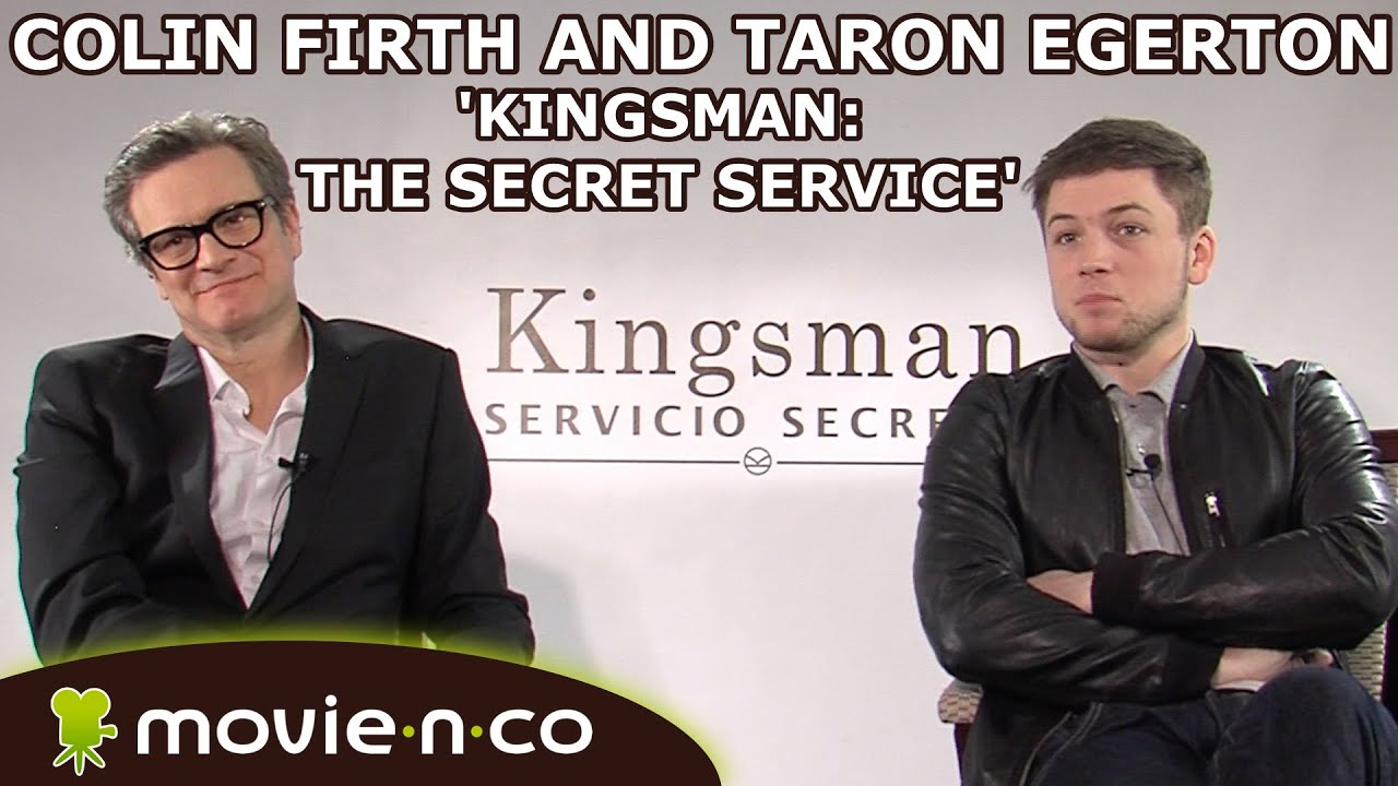 Kingsman The Secret Service Interview Taron Egerton