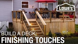 How To Build a Deck | Finishing Touches (5 of 5)