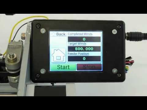 Testing Clapton Vape Coil Winder TFT Controller