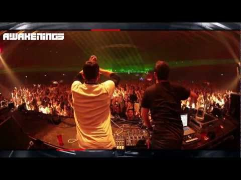 The Advent & Industrialyzer Live @ Awakenings 01-01-2013 New Years Special Gashouder Amsterdam