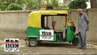 Uber vs Indian rickshaw across Delhi - BBC News