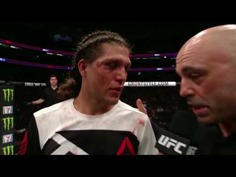 UFC 214: Brian Ortega Octagon Interview