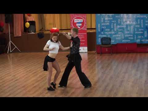 ВО2018 Absolute Fast 3 Место №56 Пётр Кузнецов - Дарья Кошевая
