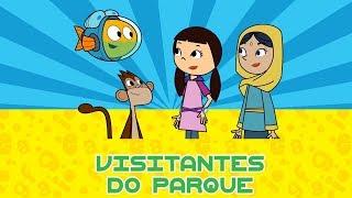 1 hora de Episódios Completos do Peixonauta - Visitantes do parque