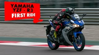 Yamaha YZF-R3 | First Ride | PowerDrift