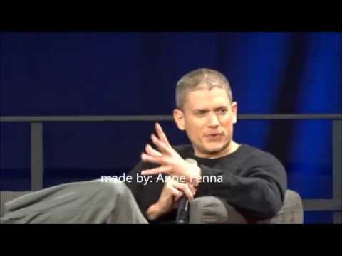 ComicCon Dortmund  panel Wentworth Miller  sunday 10  12  2017