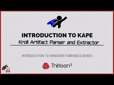 Introduction To KAPE