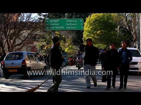 Uttarakhand High court with Nainital town