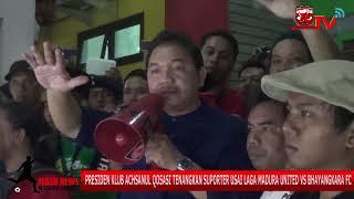 Download Video Presiden Klub Achsanul Qosasi Tenangkan Suporter Usai Laga Madura United vs Bhayangkara FC MP3 3GP MP4