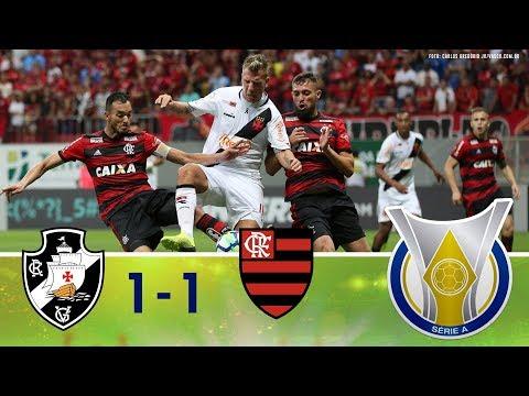 Melhores Momentos - Vasco 1 x 1 Flamengo - Campeonato Brasileiro (15/09/2018)