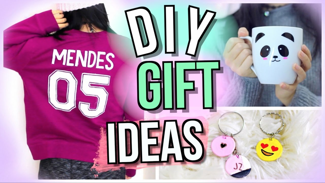 DIY Christmas Gifts For Friends Girls Guys Family Teachers