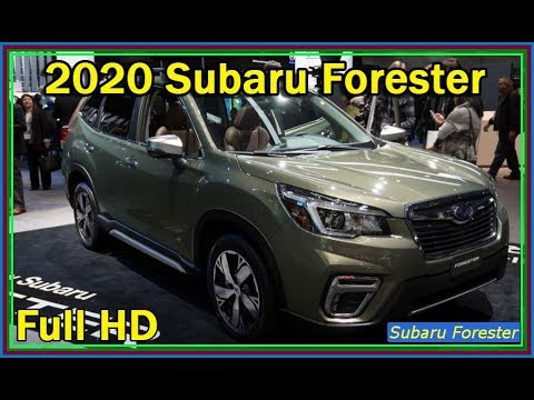 Subaru Forester 2020 New 2020 Subaru Forester Sport Video Review