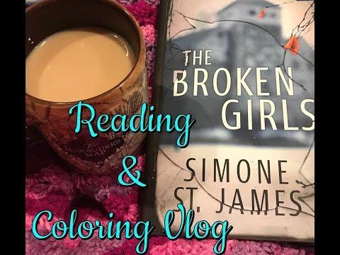 Reading & Coloring Vlog 2!