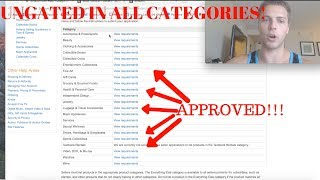 How To Get UNGATED In ALL Amazon Categories EASY APPROVAL
