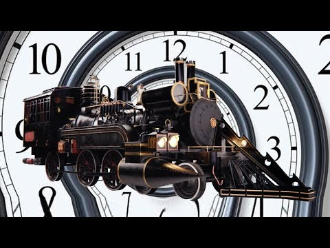 The Jules Verne Time Train (Back To The Future)